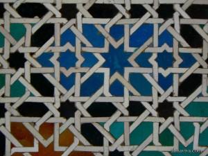 Alhambra zellige Morroco mosaic tile