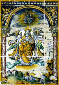 azulejo Espagne carreau émaillé