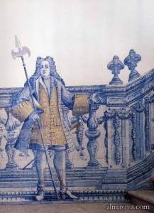 figura de convite azulejo