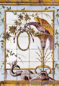 azulejos carreau portugais néo-classique