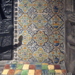 carreaux de faience de Delft cheminee Anvers