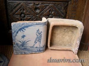 ceramic stove tile