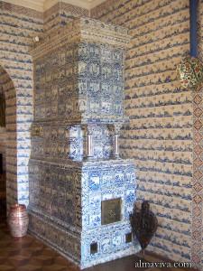 ceramic stove Delft Menshikov