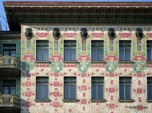 ceramic tile Art Nouveau Majolikahaus