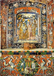 Niculoso azulejo Alcazar Seville