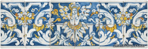 azulejo decor grotesque