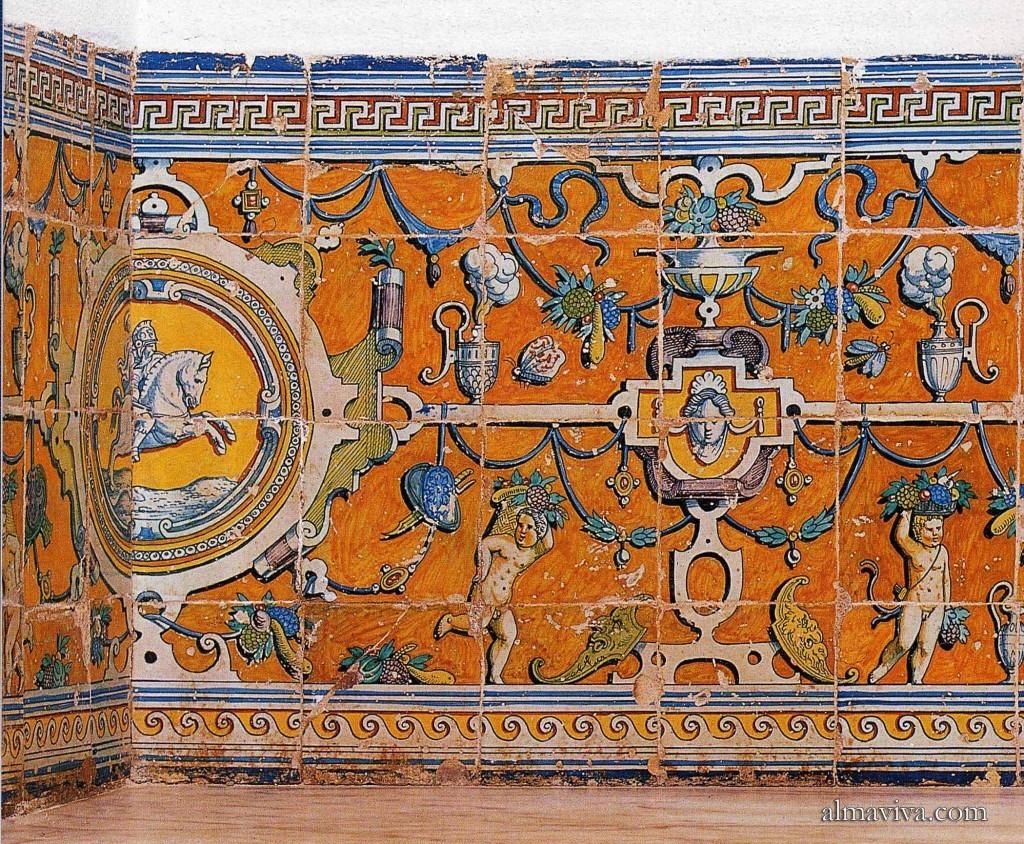 carreau majolique azulejos Anvers