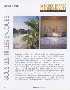Press articles on Almaviva studio of replica tiles