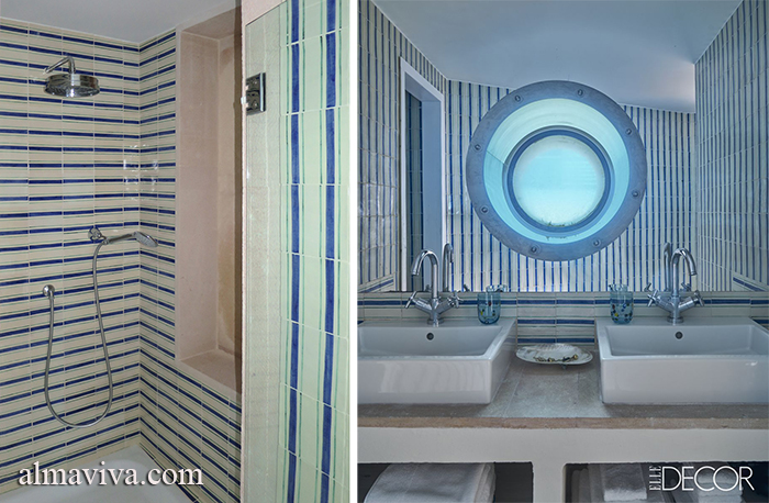 Ref. CD51 - Bathroom tiles with stripes